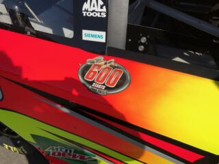 Earnhardt's No. 88 Axalta Chevrolet SS to carry 600th start decal