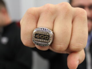 Hendrick presents No. 5 team with Brickyard rings