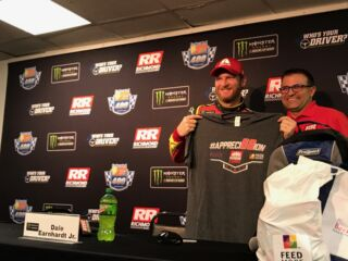 Richmond Raceway makes charitable contribution in Earnhardt's name