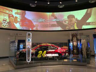 Gordon's Hall of Fame exhibit on display