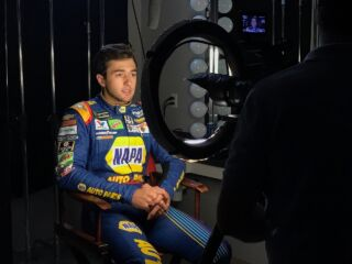 Behind the scenes: Kahne, Elliott and Johnson at playoffs media day