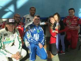 Hospital visit 'a blessing and an impact' for pit crew athletes