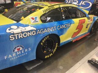 Meet 9-year-old Wyatt, who designed Kahne's 'coolest car' for Chicagoland