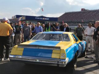 Talladega gifts Earnhardt a piece of family history