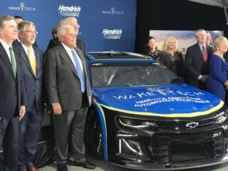 Hendrick Automotive Group donation helps 'start engines' on Hendrick Center for Automotive Excellence
