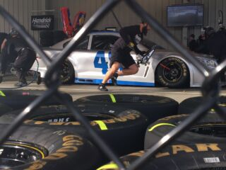 Pit crews dialed in as Fontana awaits