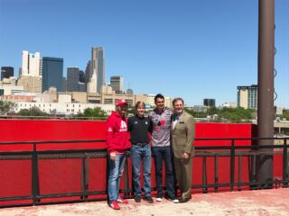 Earnhardt joins drivers for Texas round-up