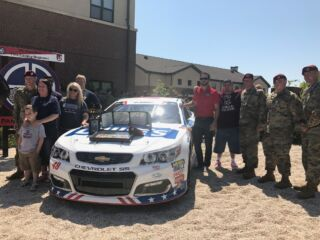 Johnson visits family of SPC Rodriguez at Ft. Bragg