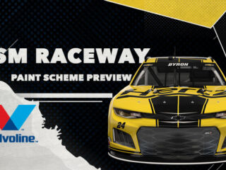 Two fresh paint schemes at ISM Raceway
