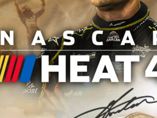 Race as Jeff Gordon in 'NASCAR Heat 4' Gold Edition