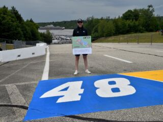 New Hampshire Motor Speedway names running trail after Johnson, gifts him rare musket