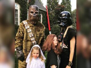 Trick or Treat: Teammates celebrate Halloween