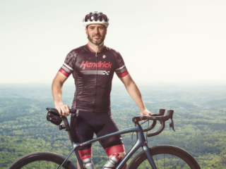 Johnson featured in Bicycling Magazine's latest issue