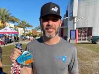 Johnson crushes Daytona half marathon