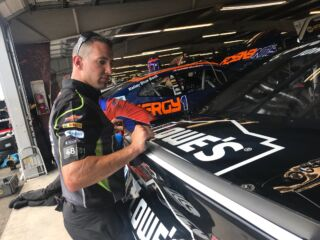 From bowling to NASCAR, Ellis enjoying role as No. 48 hauler driver