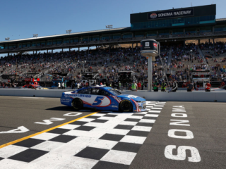 Race Rundown: Larson takes checkered flag at hometown track