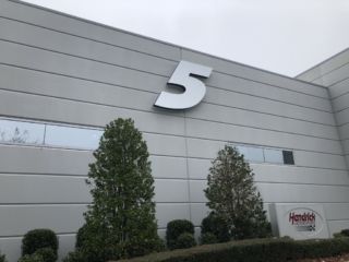 No. 5 proudly displayed at Hendrick Motorsports