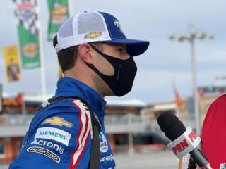 Daniels lauds 'incredible' Larson after epic Las Vegas win