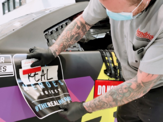 Hendrick Motorsports teams paying homage to frontline workers at Darlington