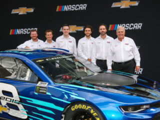 Hendrick Motorsports helps Chevy announce new era