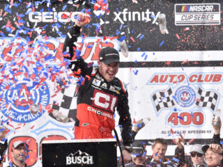 Race Rundown: Bowman dominates in Fontana for second career win