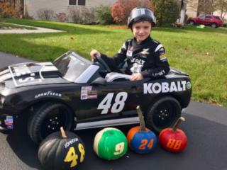 Fans celebrate Halloween Hendrick Motorsports style