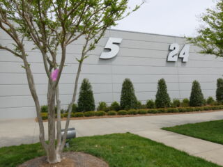 Hendrick Motorsports campus Easter egg hunt