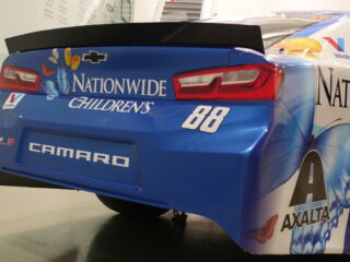 Bowman unveils Nationwide Children's Hospital paint scheme