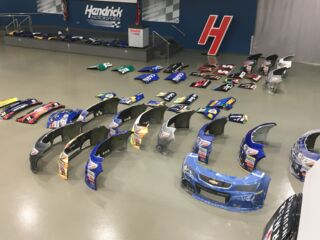 Hendrick Motorsports team store sheet metal sale for All-Star Race