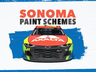 Paint Scheme Preview: Slick schemes at Sonoma