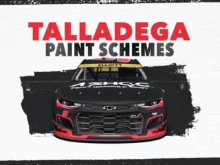 Paint Scheme Preview: Dominant schemes at Talladega