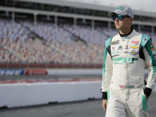 Byron enjoyed 'new challenge' of Charlotte road course