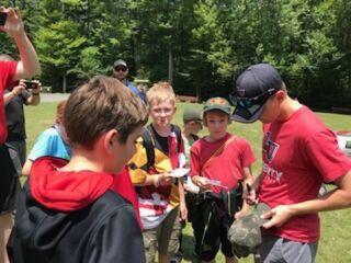 Behind the Scenes: Byron mentors Boy Scouts at Pocono