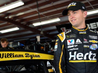 Byron reflects on solid Talladega performance