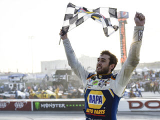 Inside Elliott's Dover Victory Lane celebration