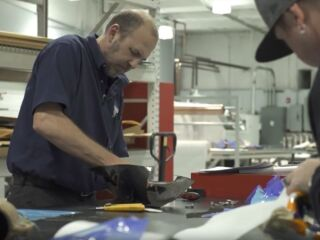 Carbon fiber plays key role in car prep