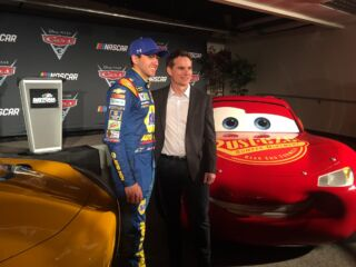 Chase Elliott among familiar voices in upcoming 'Cars 3'