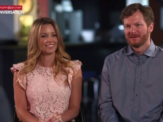 Amy and Dale Earnhardt Jr. sit down for ESPN conversation