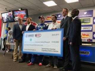 Charlotte Motor Speedway establishes Dale Earnhardt Jr. Concussion Research Fund