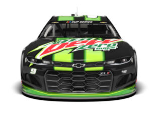 Fresh No. 9 Mtn Dew Zero Sugar Chevy for Elliott