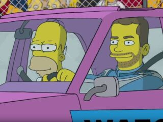 Watch commercial starring Earnhardt, Gordon and 'The Simpsons'