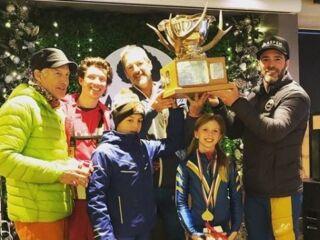 Johnson captures Aspen ski race alongside daughter