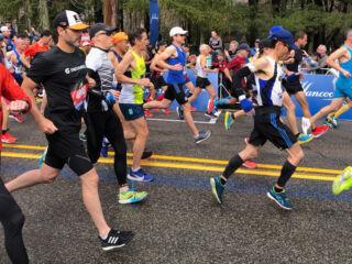 Johnson completes Boston Marathon