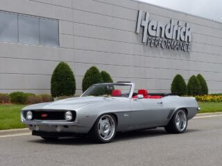 Six generations of Camaros to pace Southern 500 field with Hendrick piloting 1969 edition