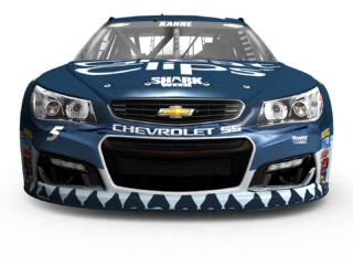 Kahne debuts Shark Week scheme at Pocono