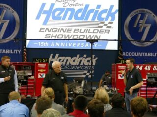 Behind the Scenes: 2016 Randy Dorton Hendrick Engine Builder Showdown