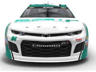 Byron's new No. 24 UniFirst Chevrolet revealed