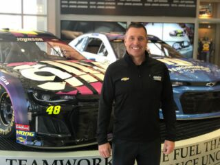 How I Work at Hendrick Motorsports: Chris Burkey