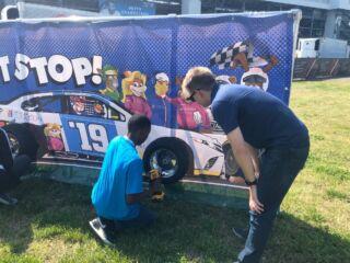 Byron joins NASCAR Foundation's Speediatrics Fun Day Festival