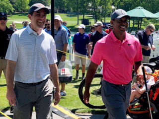 CFO Lampe joins Tiger Woods' team for 'unbelievably special' pro-am win